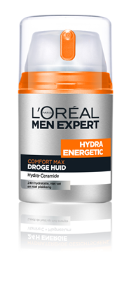 L'Oréal Paris Men Expert L'Oréal Hydra Energetic Comfort Max - droge huid - 50ml - Gezichtscrème