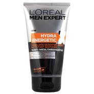 L'Oréal Paris Men Expert Hydra Energetic Charcoal Gezichtsreiniger - tegen puistjes - 150ml - Reinigingsgel