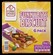 Fine Food Funnybits biscuit 6 stuks