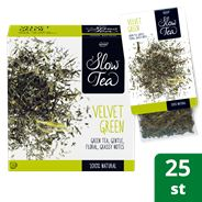 Pickwick Slow Tea Theezakjes Velvet Green 25x3g