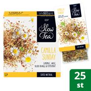 Pickwick Slow Tea Theezakjes Camilla Sunday 25x3g