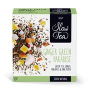 Pickwick Slow Tea Theezakjes Ginger Green Paradise 25x2,7g Pc