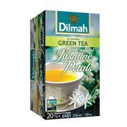Dilmah Groene thee jasmijn 20 x 1.5 gram