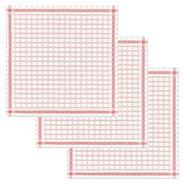 De Doek Die Direct Droogt (DDDDD) Theedk National rood 65 x 65 cm 3 stuks
