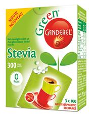 Canderel Green Zoetjes navulverpakking 300 stuks