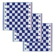 De Doek Die Direct Droogt (DDDDD) Keukendoek Veere blauw 3 stuks