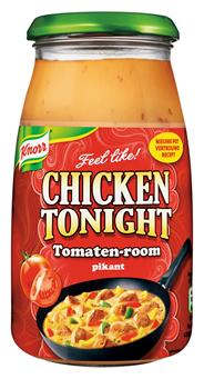 Knorr Chicken tonight Tomatenroom-pikant 495 gram