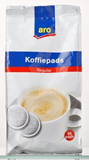 Aro Regular koffiepads 56 stuks