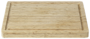 Point-Virgule 880-50400 Bamboo Wood kitchen cutting board