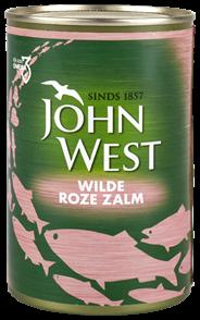 John West Wilde roze zalm 6 x 418 gram