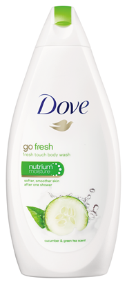 Dove Fresh touch douchecrème 500 ml