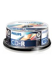 Philips CD-R 52xSp 700 MB 25 stuks