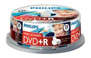Philips DVD+R printable 4,7 GB 16x 25 stuks