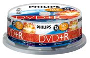 Philips DVD+R 4,7 GB 16x 25 stuks