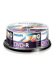 Philips DVD-R 4,7 GB 16sp 25 stuks