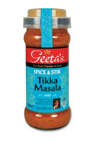 Geeta's Spice & stir Tikka masala 350 gram