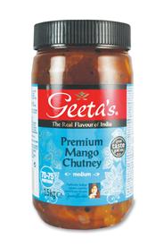 Geeta's Premium mango chutney 1,5 kg