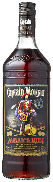 Captain Morgan Black Jamaica 12 x 1 liter
