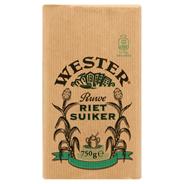 Wester Ruwe rietsuiker 750 gram
