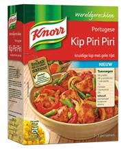 Knorr Wereldgerechten Portugese kip piri piri 260 gram