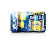 Bavaria Radler lemon blik 4 x 6 x 33 cl