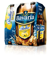 Bavaria Radler lemon fles 24 x 300 ml