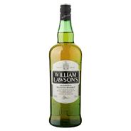 William Lawson's Finest blended whisky 6 x 1 liter