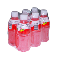 MoGu MoGu Aardbei PET 4 x 6 x 320 ml