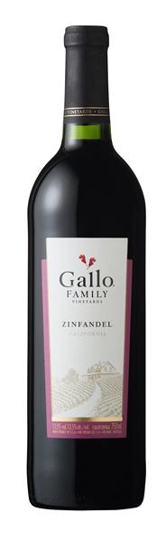 Gallo Family Vineyards Zinfandel 6 x 750 ml