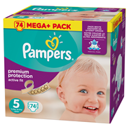 Pampers Active fit Luiers maat 5 junior 11-23 kg
