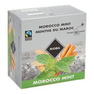 Rioba Morocco mint thee 50 x 1,5 gram