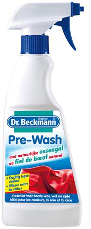 Dr. Beckmann Pre-Wash met ossengalzeep spray
