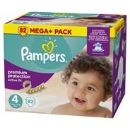 Pampers Active fit Luiers maat 4 maxi 8-16 kg