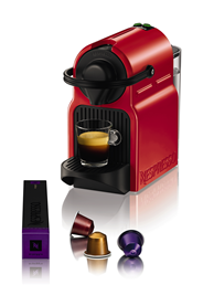 Krups Nespresso Inissia rood