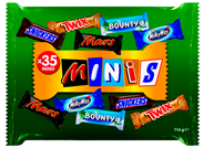 Mars Minimix 710 gram