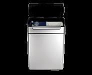 Simplehuman Touchbar Recycler Afvalemmer 24 + 24 liter