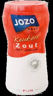 Jozo Fijn keukenzout met jodium 12 x 600 gram