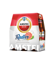 Amstel Radler Grapefruit fles 6 x 300 ml