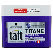 Taft Titane Power gel 250 ml