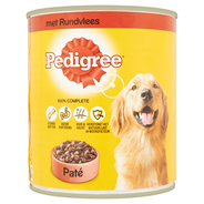 Pedigree Adult Paté met rund 820 gram