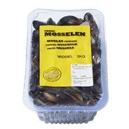 Mosselen selected by middel bak 2 kilo