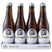 La Trappe Witte Trappist fles 8 x 330 ml