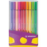 Stabilo ColorpPrade 20 Pen 68 (Lila)