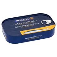 Imperial Ansjvovis reepjes in zonnebloemolie 320 gram
