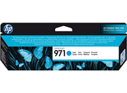 HP 971 Inktcartridge cyaan