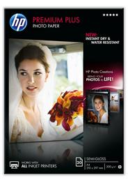 HP Premium plus matglanzend fotopapier A4/210 x 297 mm 20 vel