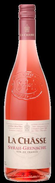 La Châsse Syrah Grenache Rosé 6 x 750 ml