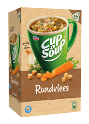 Unox Cup-a-Soup Sachets Rundvlees 24 x 140 ml