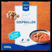 Horeca Select Runder soepballen diepvries 450 stuks 2 kg