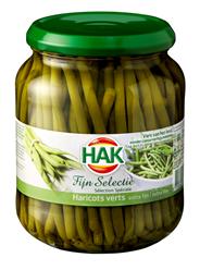 Hak Fijne selectie Haricots verts 6 x 710 ml
